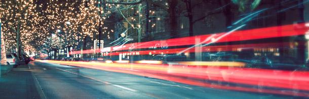 Berlin Kurfürstendamm bei Nacht