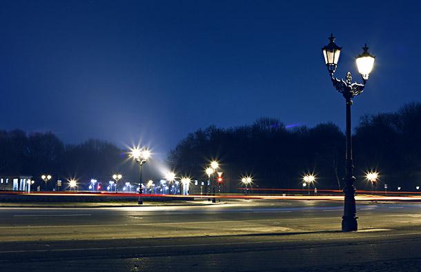 Großer Stern Berlin bei Nacht